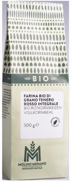 Farina di grano tenero rosso integrale Bio - Meraner Mühle