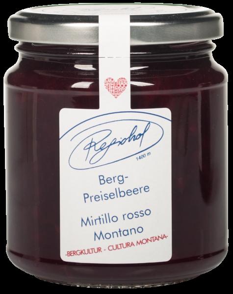 Mirtillo rosso di montagna Composta - Regiohof