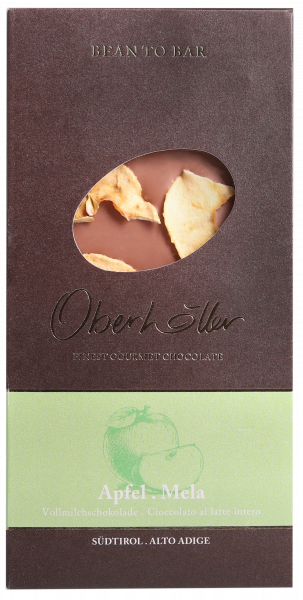 Vollmilchschokolade Apfel - Oberhöller