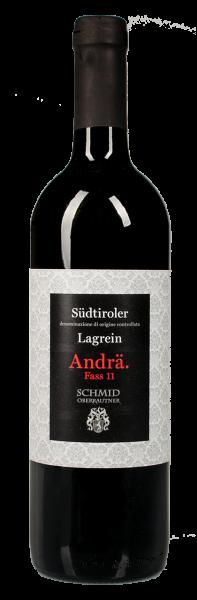 """Lagrein Gries """"Andrä"""" Fass 11 2018 - Weingut Schmid Oberrautner"""