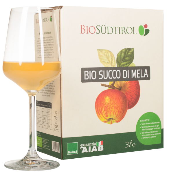 Apfelsaft Naturtrüb Bio Bag in Box - Biosüdtirol