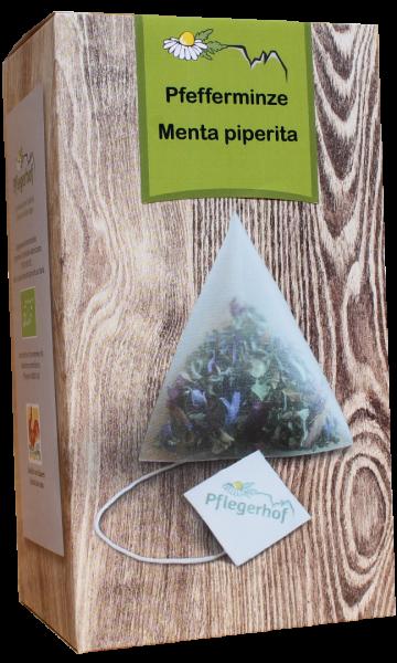 Tisana Menta piperita bustine a piramide Bio - Pflegerhof