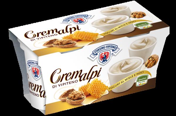 Honig-Walnuss Joghurt Cremalpi - Milchhof Sterzing