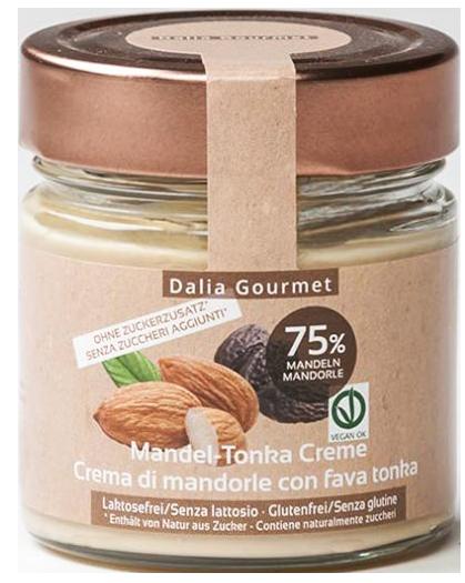 Mandel - Tonka Creme Stevia