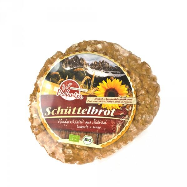 Backstube Profanter Dinkel-Schüttelbrot mit Sonnenblumenkernen
