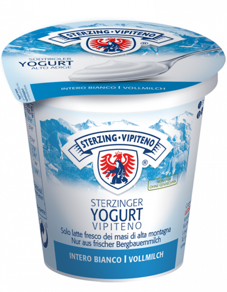 Natur Vollmilchjoghurt - Milchhof Sterzing