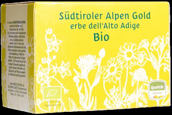 Kräutertee Alpengold Teebeutel Bio - Südtiroler Kräuterschlössl
