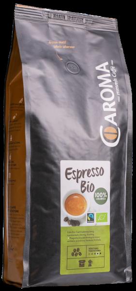 Arabica Bio chicchi 1kg - Caroma Kaffee