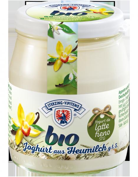 Vaniglia Yogurt intero da latte fieno Bio