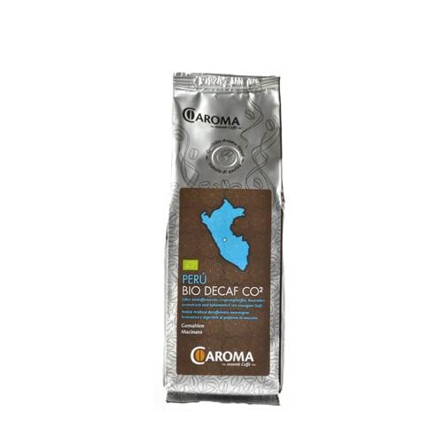 Kaffee Peru koffeinfrei gemahlen Caroma 250g