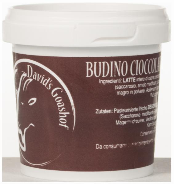 Budino di capra Cioccolato Bio - David´s Goashof