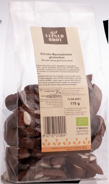 Cantuccini alle nocciole e cioccolato senza glutine Bio - Ultner Brot